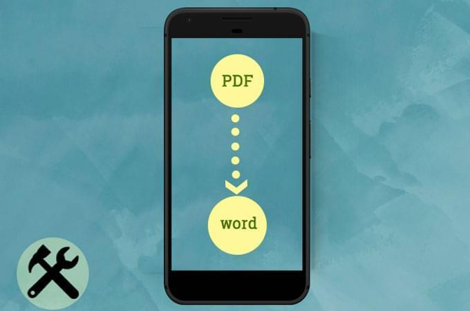 How to Convert PDF to Word on Android