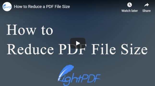 Feasible Solutions To Reduce Pdf File Size