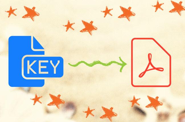 convert key to pptx online