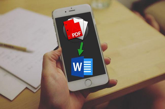 Iphone Ipad Pdf Yi Word E Donusturme Isleminin 2 Ucretsiz Yolu